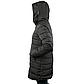 Женская Куртка Длинная Зима-Осень L (50) (WO003) Черная, фото 3