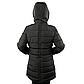Женская Куртка Длинная Зима-Осень L (50) (WO003) Черная, фото 4