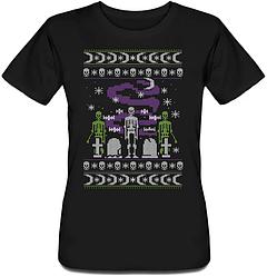 Женская футболка Things That Go Bump In The Night (чёрная)