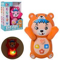 Интерактивная обучающая игрушка «Говорящий Мишка» BT-2224E