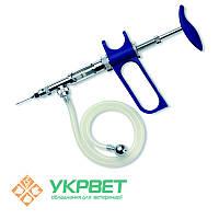 Ветеринарный шприц SOCOREX 1 мл со шлангом