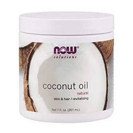 Кокосова олія Coconut Oil Now Foods Solutions 207 мл.