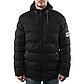 Мужская Куртка Короткая Весна L (48) (MO1835) Черная, фото 3