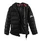 Мужская Куртка Короткая Весна L (48) (MO1835) Черная, фото 6