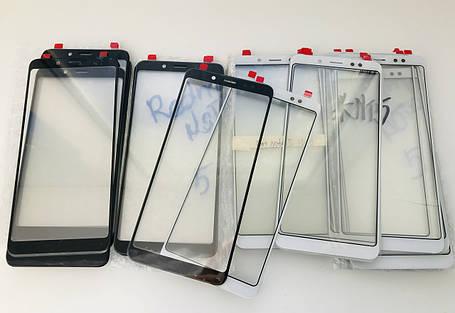 Стекло дисплея для Xiaomi Redmi Note 5 Pro черное (оригинал Китай), фото 2