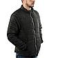 Мужская Куртка Короткая Весна M (46-48) (MO909) Черная, фото 2