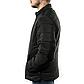Мужская Куртка Короткая Весна M (46-48) (MO909) Черная, фото 4