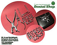 Стоматологический набор коффердам ( кламмер, щипцы, пробойник) 16 составляющих C