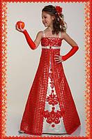 Нарядное платье для девочки Разлетайка 1720