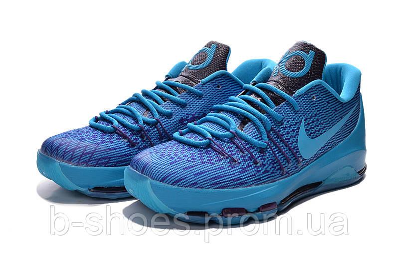 Мужские баскетбольные кроссовки Nike KD 8 (Blue)