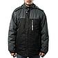 Мужская Куртка Длинная Зима-Осень XXL (52-54) (MO888) Черная, фото 3