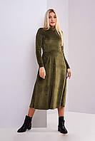 Велюровое платье 40,42,44 размеры