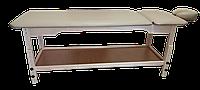 Кушетка массажная с подголовником PR_007P Серый