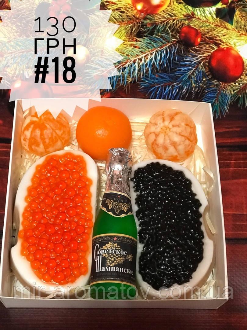 Новогодние наборы мыла ручной работы №18