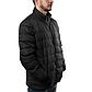 Мужская Куртка Короткая Весна XXL (52) (MO0723) Черная, фото 2