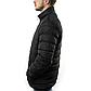 Мужская Куртка Короткая Весна XXXL (54) (MO0723) Черная, фото 4