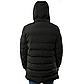 Мужская Куртка Длинная Зима-Осень XXXL (54) (MO929) Черная, фото 4