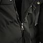 Мужская Куртка Длинная Зима-Осень XXXL (54) (MO929) Черная, фото 7