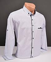 Мужские рубашки G-port белая с узором