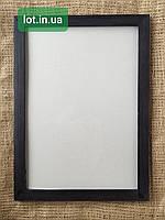 Рамка деревянная А4 (21х30см) венге, бесцветный лак, белая, орех, чёрная, серая.