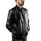 Мужская Куртка Бомбер Весна XXL (52) (MO100) Черная, фото 2