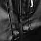 Мужская Куртка Бомбер Весна XXL (52) (MO100) Черная, фото 8