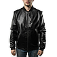 Мужская Куртка Бомбер Весна XXXL (54) (MO100) Черная, фото 3