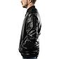 Мужская Куртка Бомбер Весна XXXL (54) (MO100) Черная, фото 4