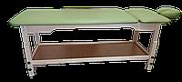 Кушетка массажная с подголовником PR_007P Зеленый