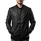 Мужская Куртка Бомбер Весна-Осень M (46-48) (MO235) Черная, фото 3