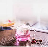 """Оригинальная чашка с заварником """"Starbucks"""" 360.мл 4 вида"""