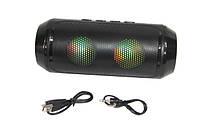 Портативная колонка Q610 Bluetooth с подсветкой, светодиодная колонка, фото 1