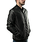 МужскаяКуртка Бомбер Весна XXL (52) (MO235) Черная, фото 2