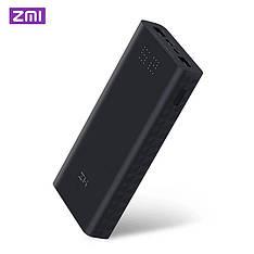 Зовнішній акумулятор ZMi Powerbank Aura 20000 mAh Type-C Black (QB822)