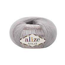 Пряжа Атлас Ализе Alize цвет 200 светло серый