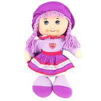 Мягкая игрушка Кукла в шапочке музыкальная R0414