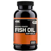Рыбий жир ОМЕГА 3 Fish Oil Softgels Optimum Nutrition  100 капс.