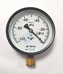 Вакуумметр Мікротех ДВ 05100 (Діаметр корпусу: 100 мм; КЛ: 1; М20х1.5) IP53 латунь (mdr_5117)