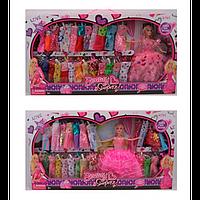 КУКЛА С НАРЯДОМ DSJ86-DSJ86-1, платья, микс видов, в коробке, 65-36-6 см.