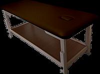 Массажный стол с отверстием для лица PR_008 Шоколад