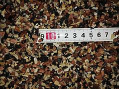 Грунт для акваріума червоно-чорно-білий 3-5 мм 10 кг (контраст-3)