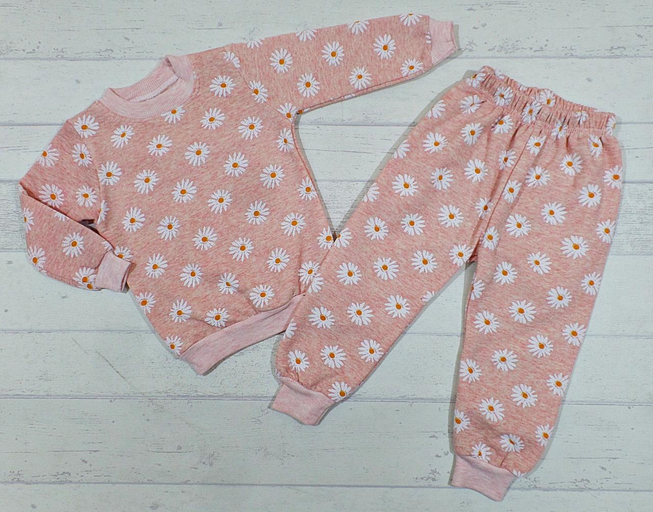 Детская пижама с начесом 3,4,5,6 лет