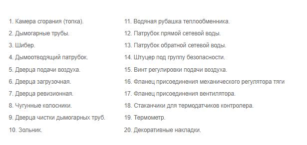 Твердотопливный котел Проскуров АОТВ-10Н конструкция