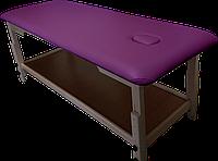 Массажный стол с отверстием для лица PR_008 Фиолетовый
