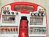 ✔️ Гравер MAX MXMS301 | 218шт | Гнучкий вал в комплекті, фото 3