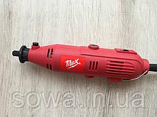 ✔️ Гравер MAX MXMS301 | 218шт | Гнучкий вал в комплекті, фото 2