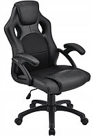 Кресло компьютерное игровое или для офиса Home Fest OSKAR Черное