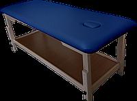Массажный стол с отверстием для лица PR_008 Синий