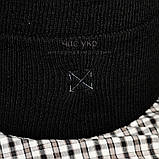 Трендовая мужская шапка Off-White черная Турция Офф вайт Хайповая Новинка 2020 года зима Молодежная реплика, фото 3
