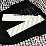 Трендовая мужская шапка Off-White черная Турция Офф вайт Хайповая Новинка 2020 года зима Молодежная реплика, фото 4